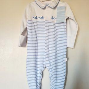 Jojo Maman Bebe Baby Sleepsuit, bodysuit, 6-9